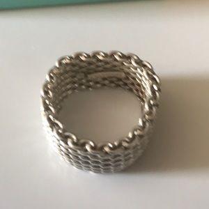 Tiffany & Co. Jewelry - Tiffany & Co Somerset Mesh Ring